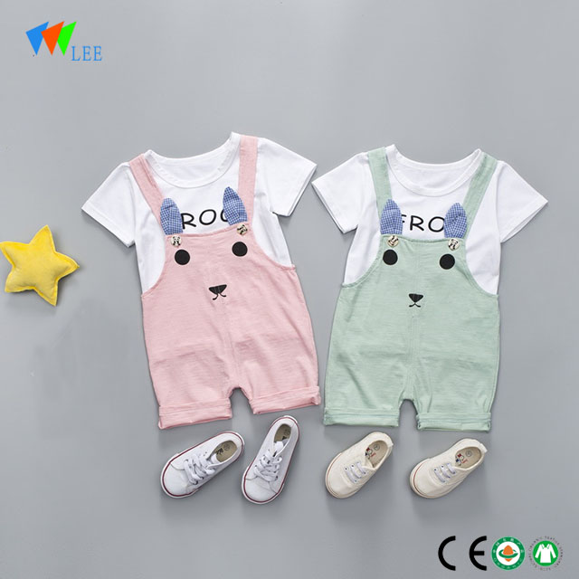 8a66141bfe42 100% cotton wholesale baby girl boutique clothing sets manufacturers ...