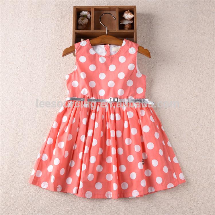 eecf348d569d Ζεστό πώληση του μωρού καλοκαίρι πουά κορίτσι ρούχα β ... Καλοκαίρι μωρό  κορίτσι babydoll κορυφή φορέματα τελευταίες παιδιά swing σχέδια φόρεμα