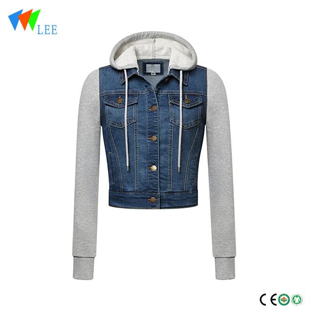 194e1f04315 Long-Sleeve Regular   Plus Size kids denim jacket manufacturers and ...