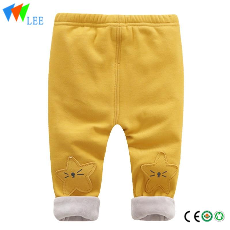 6b3a9acd0ba παντελόνι παιδιά φθινόπωρο χειμώνα αγόρια και κορίτσια βαμβάκι πυκνώσει το  σχεδιασμό παντελόνι μόδας