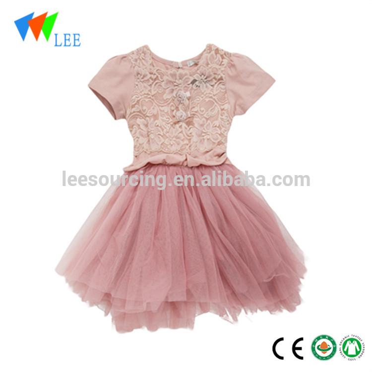 f9c2f11fed77 Χονδρικό Βιομηχανία μωρό βαμβάκι / πολυεστέρα ... Top Προμηθευτής Χονδρικό  Pretty μωρό κορίτσια Φορέματα με τα παιδιά ...
