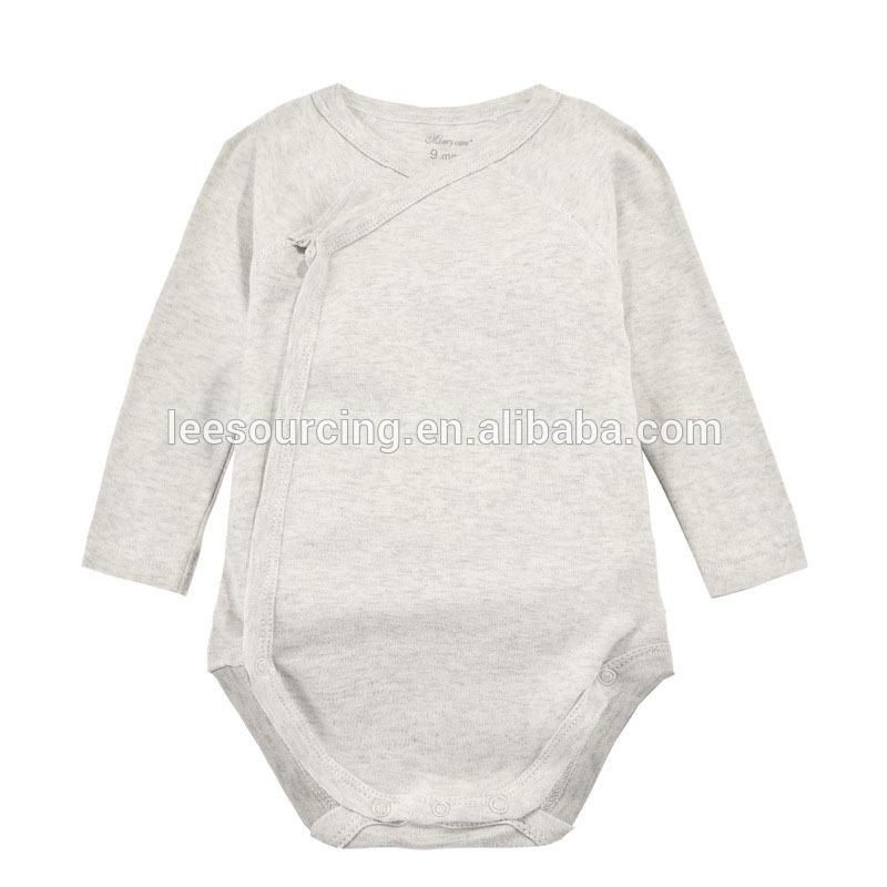 fea18c418be9 Υψηλής ποιότητας μωρό κενό μπλούζα μωρό ρεγκλάν μανίκι βαμβάκι ρούχα  οργανικά