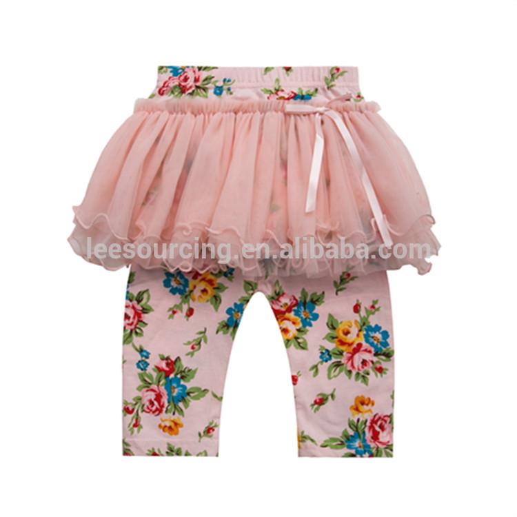 bbfa935ea41e κορίτσι κόμμα μόδα κολάν παντελόνι βαμβακερό τούλι παντελόνι φούστα φόρεμα  πολύχρωμο pantskirt εκτύπωση για τα παιδιά
