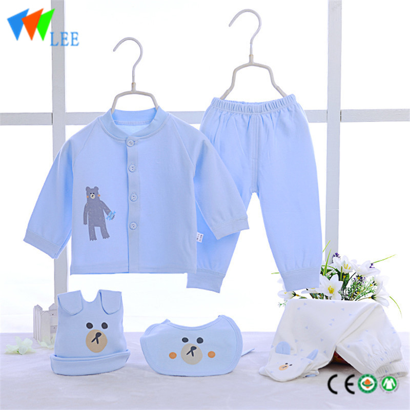 a1d22e3aef102 100% cotton newborn baby clothing gift sets embroidered ...
