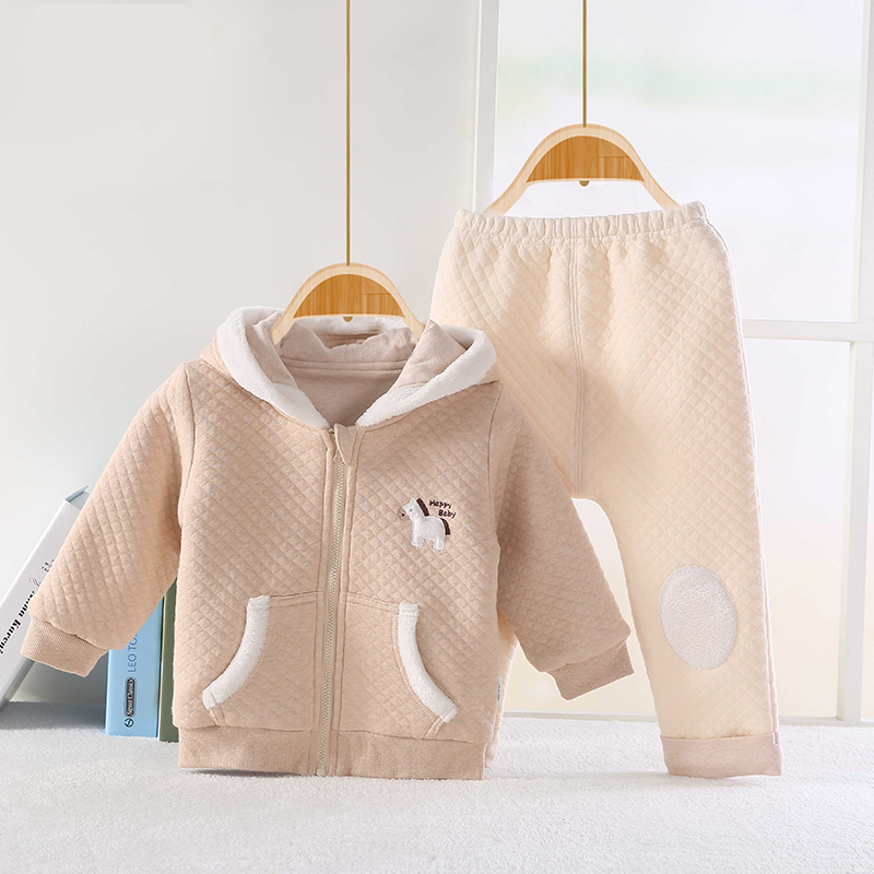 e7c497072ce Χονδρικό μωρό Clothing100% σύνολο βαμβάκι 2PCS βρέφος αγόρια χειμωνιάτικα  ρούχα